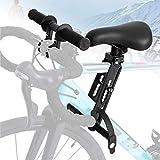 Xiaohong Kinderfahrradsitz Vordere Fahrradsitze mit Griff für Mountainbikes,Vorne Montierte Fahrradsitze Abnehmbarer Mountainbike-Kindersitz, Fahrradsitz für Kinder