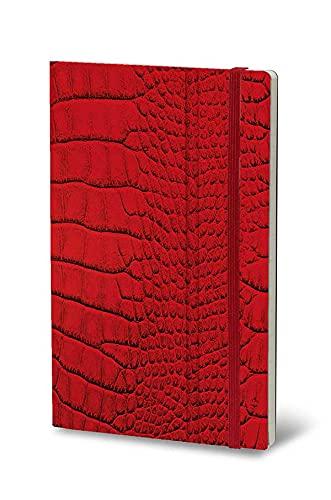 Stifflexible 062S - Cuaderno MRS CROCODILE 9x14cm 144 Páginas Rojo