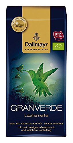 Dallmayr Kaffee Kaffeerarität Granverde Kaffeebohnen, 4er Pack (4x 250 g), ganze Bohne