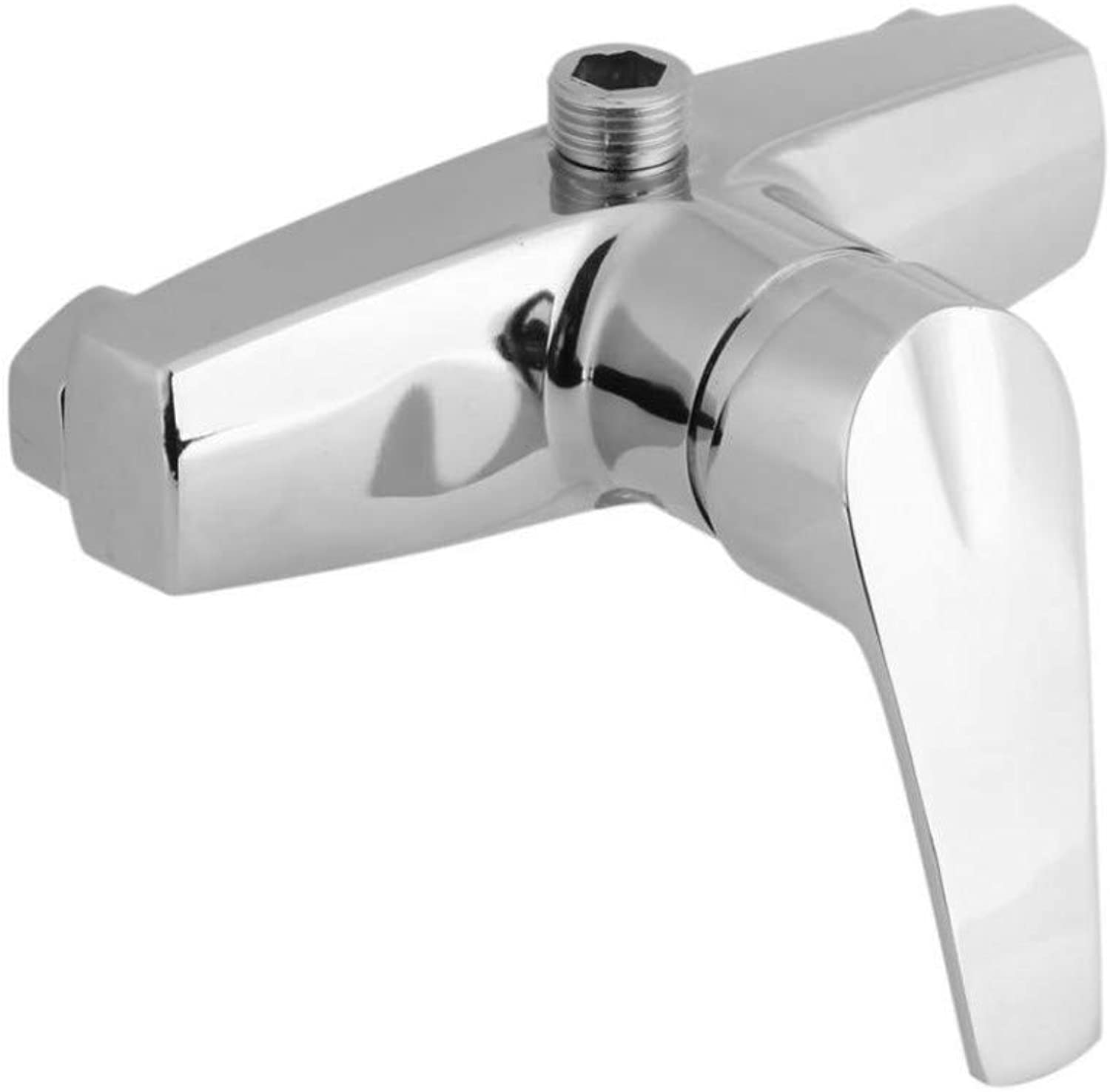 HELING Zinc Alloy Bathroom Bathtub Single Handle Faucet Wall Mounted Bath Shower Valve Mixer Tap