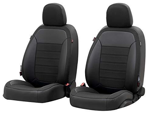 Walser Sitzbezug Aversa, Schonbezug kompatibel mit VW Tiguan Baujahr 09/2007-07/2018, 2 Einzelsitzbezüge für Normalsitze