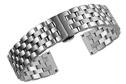 18 mm di stile giubileo di fascia alta cinturini per orologi in acciaio...