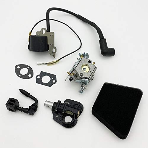 BGTR Accesorios de Moto Kit de la Bomba de Aceite del Filtro de Aire del carburador del Filtro de Aire Compatible con McCulloch Mac Cat 335 435 440 2020 Kit de reparación de Nuevo carburador
