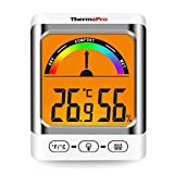 ThermoPro TP52 digitales Thermo Hygrometer Innen Raum Thermometer mit Schimmelalarm Temperatur und Luftfeuchtigkeitmessgerät für Raumklimakontrolle,...