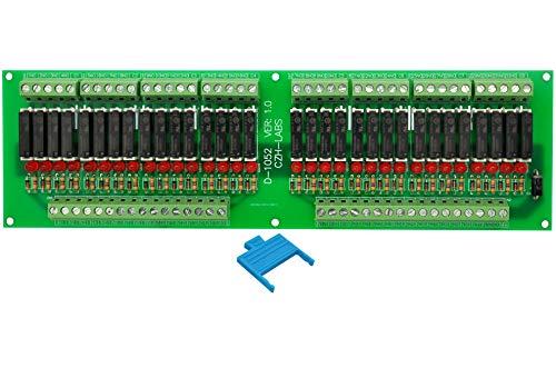 ELECTRONICS-SALON delgado montaje en Panel DC24V fregadero/NPN 32 SPST-NO 5 A Potencia Módulo de relé, PA1a-24V