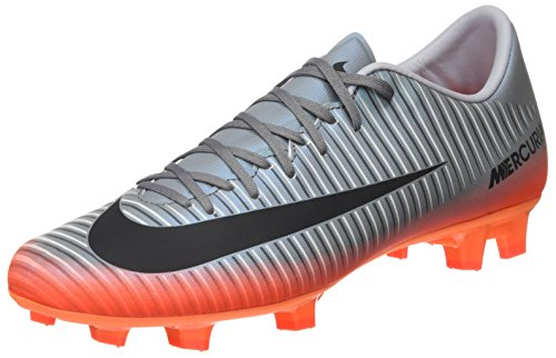 Nike Herren Mercurial Victory VI CR7 FG 852528 001 Fußballschuhe, Grau (Cool Grey/MTLC Hematite-Wolf Grey-total), 45 EU