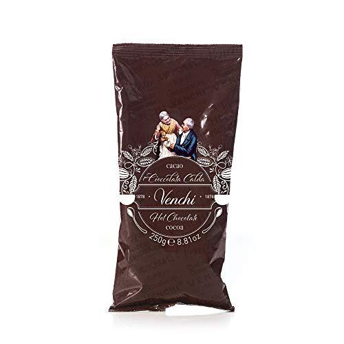 Venchi Cioccolata Calda, Preparato Per 10 Tazze, 250g - Senza Glutine