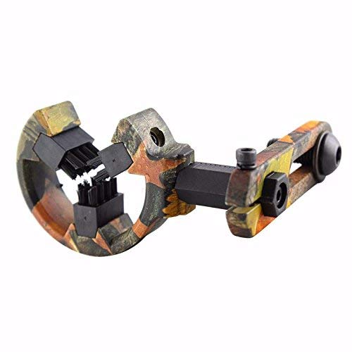 Mosogos Hunting Brush Capture Arrow Rest for Compound Bow Hunting Archery Rest for Right and Left Hand Use