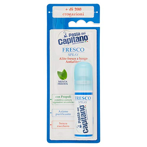 Pasta del Capitano Spray Fresco - 6 Recipientes de 15 ml -