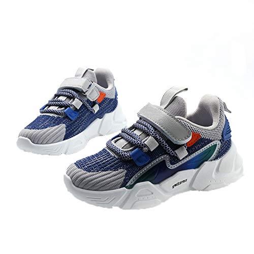 Zapatos Deportivos Casuales para niños Zapatillas Ligeras Antideslizantes de Malla Baja para niños niñas Zapatos para Correr Transpirables al Aire Libre