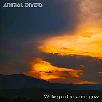 Walking on the sunset glow