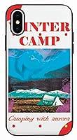 かわいい 冬 キャンプ ホワイト Winter Camping White キャラクター アート デザイン iPhone ケース と Galaxy ケース 対応 TPU シリコン と ポリカーボネート ミラー 機能 マグネチック ドア カード 収納 バンパー スマホケース。BC-BTS-21-17-19-002 (iPhone 11 Pro(5.8インチ)) [並行輸入品]