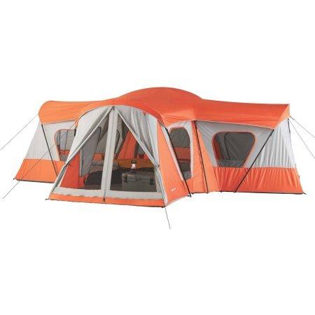 Ozark Trail Base Camp 14-Person Cabin Tent (Orange)