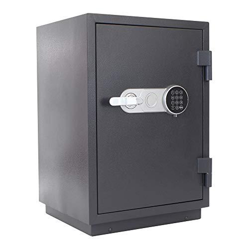 Profirst Versal Fire 65 brandwerende kluis EG FS60P, vuurvaste documentenkast, kluis met elektronisch slot, gecertificeerde meubelkluis, incl. verankeringsmateriaal