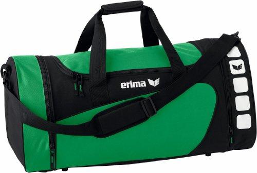 erima Sporttasche, smaragd/schwarz, S, 28 Liter, 723332