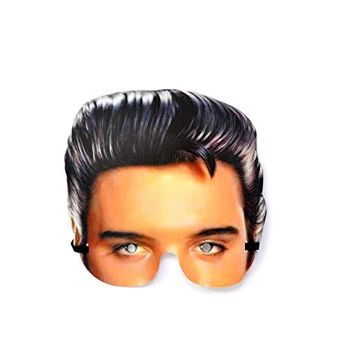 FANMEX - Fantastik - Realistische Papiermaske - Künstler und Schauspieler (Elvis Presley)