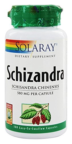 Solaray Schizandra Berries, 580 mg, 100 Count