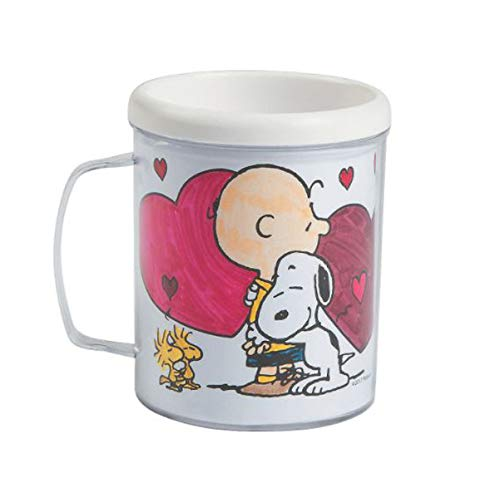 Color Your Own Peanuts Valentine Mugs! Do It Your Self Coloring Mug! Peanuts Snoopy Inspired Valentines Day Gift!