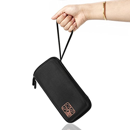 Faylapa Carrying Case Storage Travel Bag for Graphing Calculator Texas Instruments TI-83 Plus TI-84 Plus CE TI-89 Protective Pouch Black Photo #2