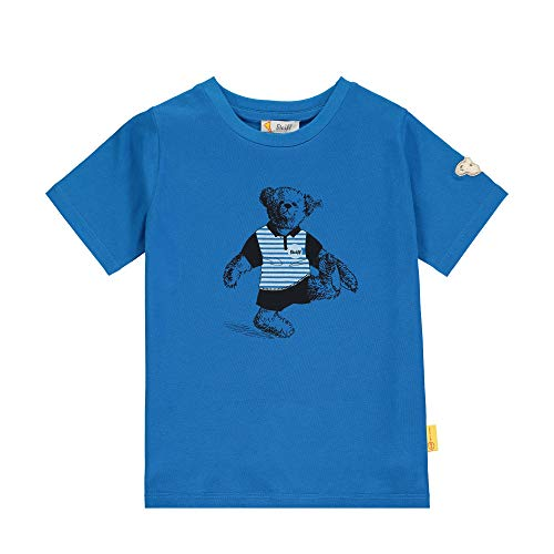 Steiff Shirt, Bleu (Skydiver 6040), 80 cm Fille