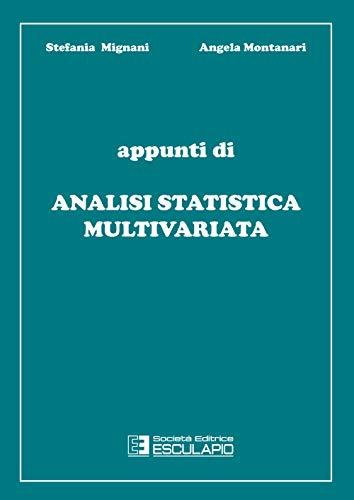 Appunti di analisi statistica multivariata