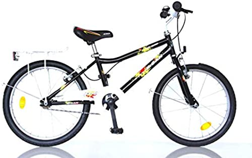 T&Y Trade 20  20 Zoll Kinder Jungen Bike Fahrrad Rad KINDERFAHRRAD JUNGENFAHRRAD Kinderrad KDS 2400 Schwarz