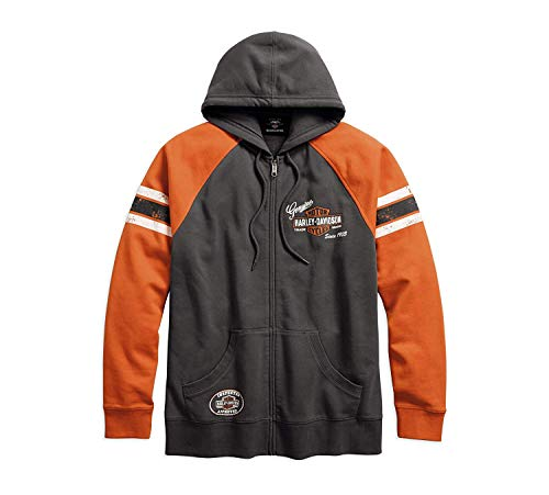 HARLEY-DAVIDSON Official Men's Genuine Oil Can Hoodie