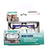 ZOOARTS Dial Vision Reading Adjustable Eye Glasses Flex Clear Focus Auto Adjusting Optic