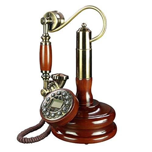 LIUNA Inicio Antiguo Hotel Antiguo De Metz Hotel Retro Teléfono Fijo Fijo(Color:A)