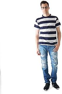[ベルバシーン] ボーダーTシャツ 161560 (メンズ)