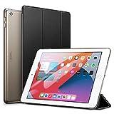 ESR iPad 8 ケース 2020 iPad 10.2 ケース 第7世代(2019) 半透明 薄型 軽量 傷防止 オートスリープ/ウェイク 三つ折りスタンド スマートケース iPad 10.2インチ(2020/2019)用 ハードカバー(ブラック)