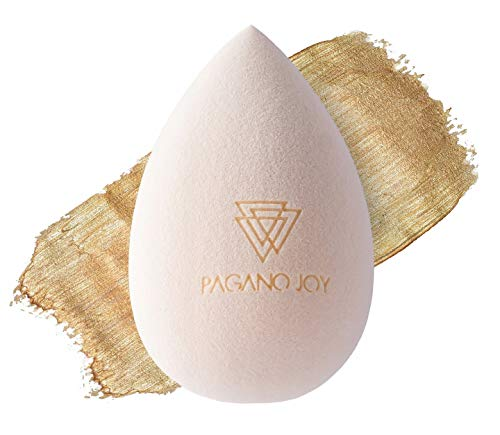 Pagano Beauty Blender Premium Make Up Schwamm Beauty Blender - Makeup Schwämmchen Sponge Ei - Super Weich - zum Verblenden von Concealer, Puder und Flüssiger Foundation