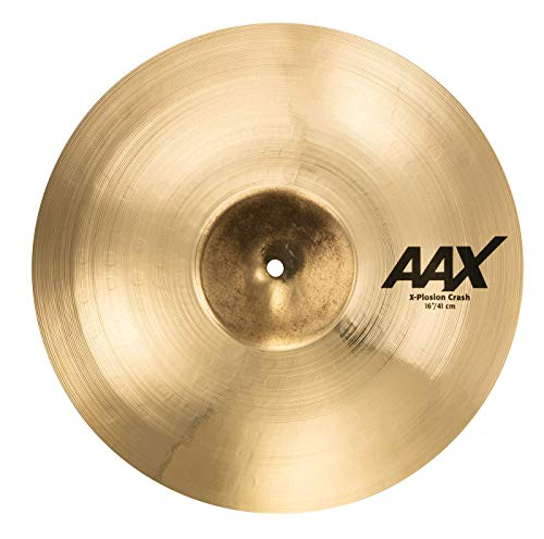 Sabian AAX 16' X-Plosion Crash Cymbal, Brilliant Finish