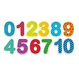 NUOBESTY Zahlen Wandtattoo Kinder Ziffern Wandaufkleber Wandsticker Mathematik Wandbuchstaben Hintergrundzubehör für Klassenzimmer Schule Babyzimmer