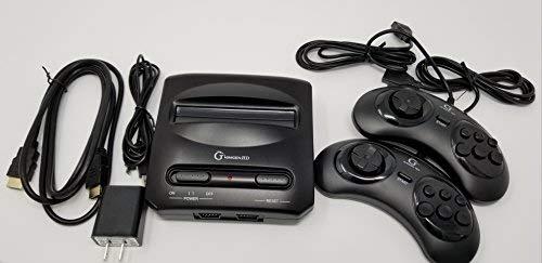 Minigen HD Video Entertainment System (NO GAMES INCLUDED) Compatible with Sega Genesis & Mega Drive Games Games