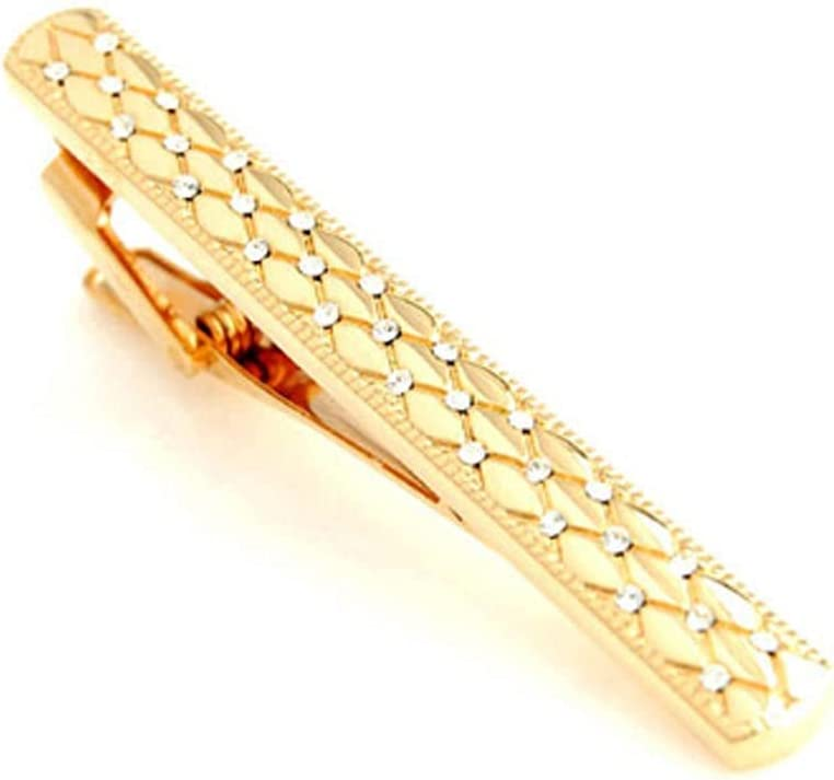 YUTR Fashion Classic Gold-Plated Tie Clip Gentleman Men's security Cl 25% OFF