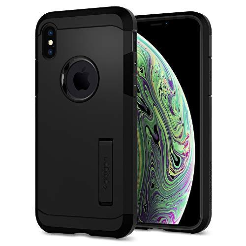 Spigen Tough Armor Designed for iPhone Xs Case (2018) / Designed for iPhone X Case (2017) - Matte Black