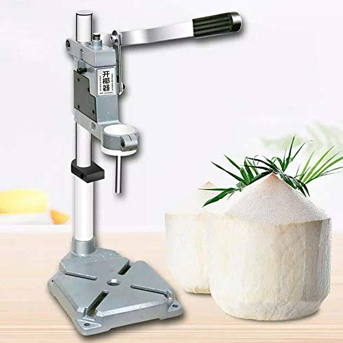 TFCFL Manual Coconut Opener Vertical Tool Hole Drill Tool Fruit shop Coconut Opening Machine...