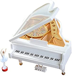 Alytimes Mechanical Classical Ballerina Girl Dancing on The Piano Music Box