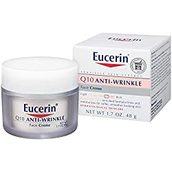 powerful Eucerin Q10 Anti-Wrinkle Face Cream-Unscented, Moisturizing, Soft and Smooth Skin-1.7…