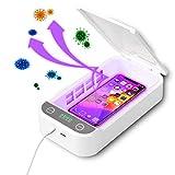 KEMOO - Scatola disinfettante UV per telefono cellulare, sterilizzatore portatile per smartphone