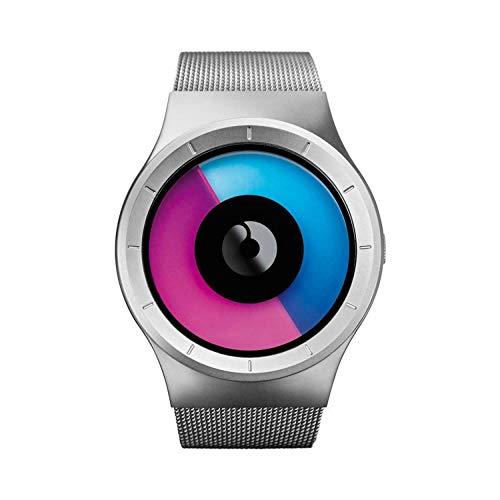 Ziiiro Unisexuhr Celeste Chrome / Purple Z0005WSM