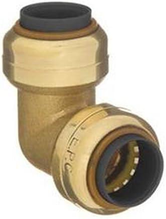 1//2-Inch x 1//2-Inch Mueller 631-103 DZR Lead-Free Brass 90-Degree Drop Ear Elbow