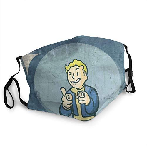 Anti-Dust Scarf,Fallout Anti-Staub-Schal, Sicherheitsmundschutz Für Das Radfahren Im Freien,20x15cm