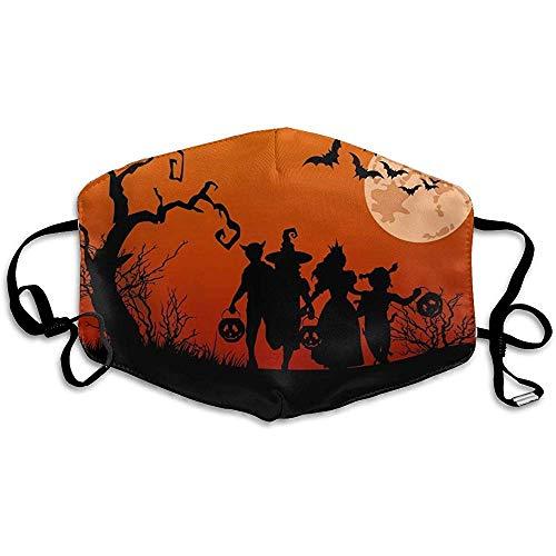 Wiederverwendbare waschbare Gesichtsschutzhülle für Halloween-Kostüme für den persönlichen Schutz