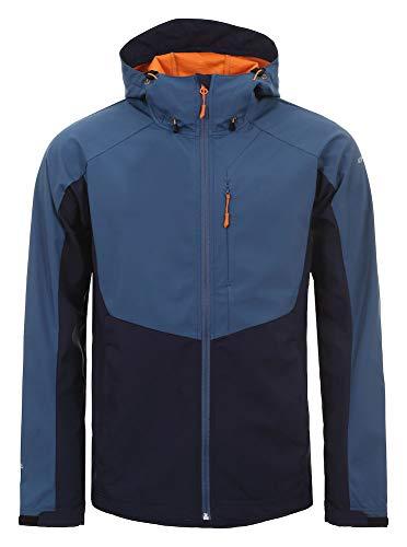 Icepeak Herren Barnes Softshell Jacke, dunkel blau, 50