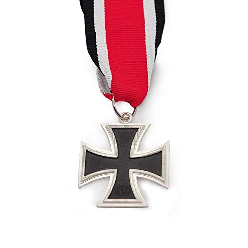 1pc Medalla Militar, La Segunda Guerra Mundial Guerra Medalla Cruz Alemana, Merrit Militar Hierro De Los Caballeros con Cinta De Colores