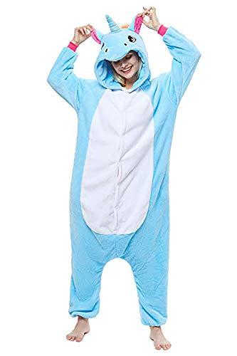 Crazy lin Unisex Unicornio Cosplay Pijamas Halloween Cosplay Disfraz Animal Homewear