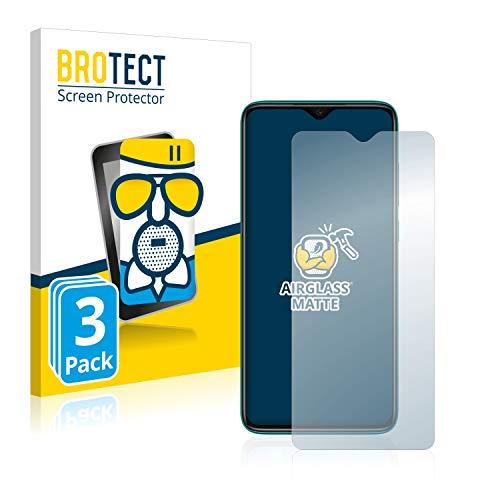 BROTECT Protector Pantalla Cristal Mate Compatible con Xiaomi Redmi Note 8 Pro Protector Pantalla Anti-Reflejos Vidrio, AirGlass (3 Unidades)