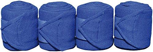 Harry's Horse 33000130-01 - Vendaje (acrílico, 4 Unidades), Color Azul